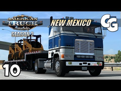 ATS S02E10 - First Truck! The Freightliner FLB - American Truck Simulator New Mexico Let's Play