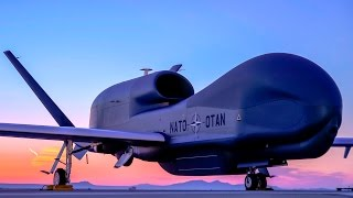 MOST ADVANCED NATO Military Global Hawk UAV Aircraft
