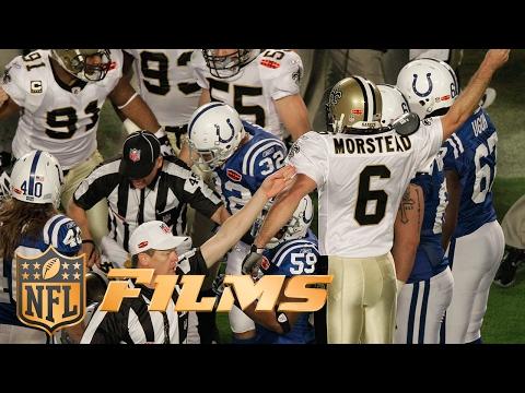 #9 Saints Surprise Onside Kick | NFL Films | Top 10 Super Bowl Plays