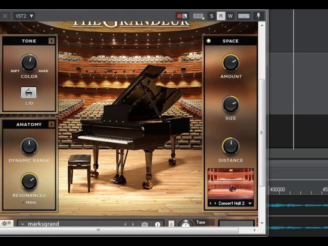 Native Instruments Grandeur VS CFX Concert Grand - With Loop Control -  YouTube for Musicians