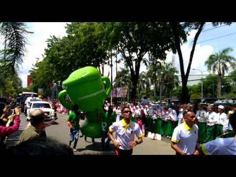 Kedatangan Api Obor Asian Games 2018 Di Kota Seribu Sungai Banjarmasin