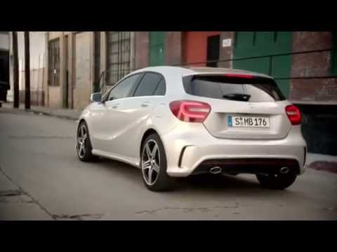 mercedes benz a class 250 commercial youtube. Black Bedroom Furniture Sets. Home Design Ideas