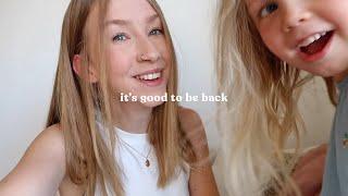 WE'RE BACK | Rhiannon Ashlee Vlogs