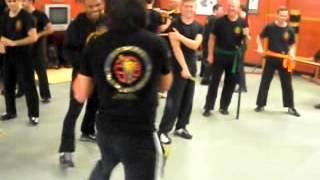 Wing Chun Sifu Rahsun Herkul sparring with Alfredo