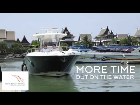 Royal Phuket Marina Dry Stack Boat Storage
