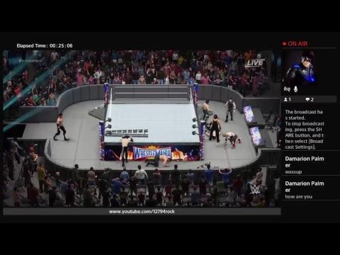 THE LEAGUE: WWE 2K18 Test Stream