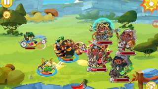 Angry birds epic The Apocalyptic Hogriders part 4