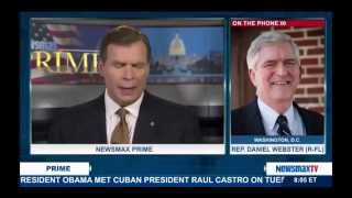 Newsmax interview with Congressman Daniel Webster