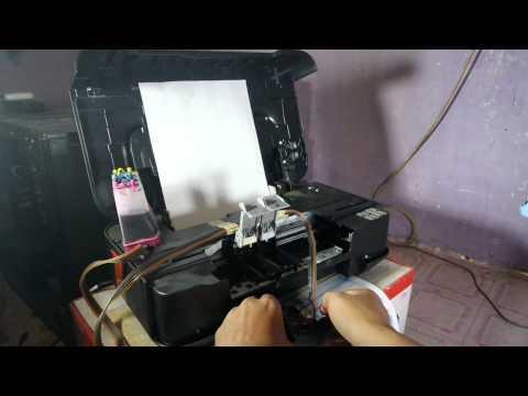 Cara Memperbaiki Printer Rusak Canon iP2770 Tidak Keluar Tinta Sumbat.