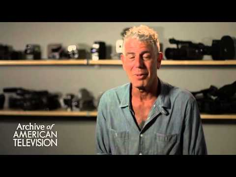 """Anthony Bourdain on the Romania episode of """"No Reservations"""" - EMMYTVLEGENDS.ORG"""