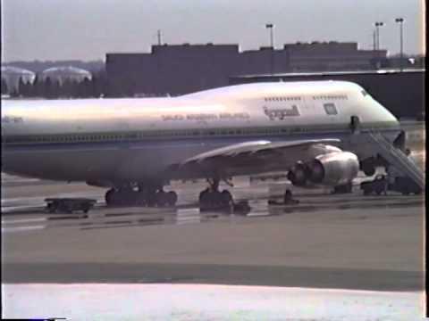 Flying to Saudi Arabia in Feb 1994 via SMF, DEN, IAD, FRA Pt 3