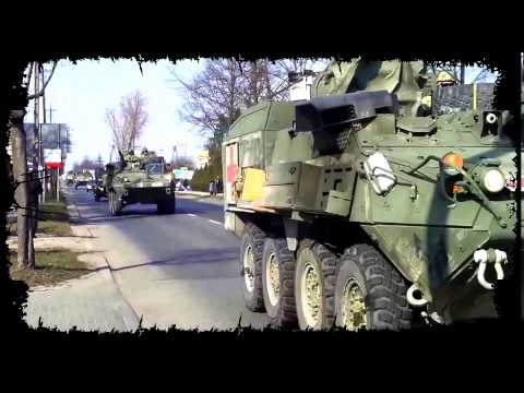 US Army Strykers in Poland, Operation  Dragon Ride  has begun!