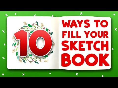 10 HOLIDAY DOODLES TO FILL YOUR SKETCHBOOK