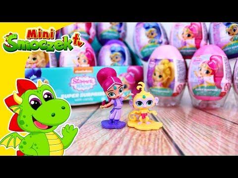 Shimmer i Shine Jajka Niespodzianki Zabawki Bajki Dla Dzieci Po Polsku