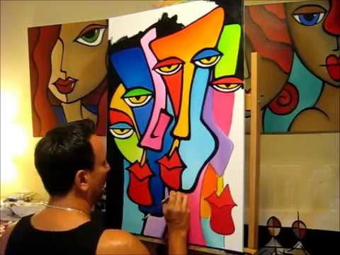 Cynics by Thomas Fedro - Fidostudio.com - Creating an original pop art painting