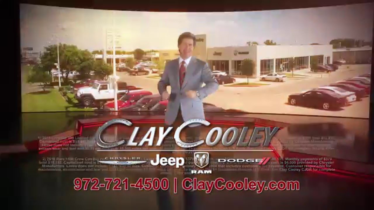 Clay cooley chrysler jeep dodge beginning of the year for Cooley motors used cars