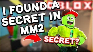 Murder Mystery 2 Casual Gameplay - I FOUND A SECRET!!! (MM2 Roblox Gameplay)