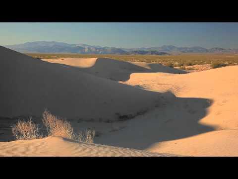 Mysterious Mojave Desert Dunes
