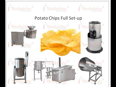 """KRISHNA"", Potato Chips Making Machine - for Quote Whatsapp+91-9428264944"