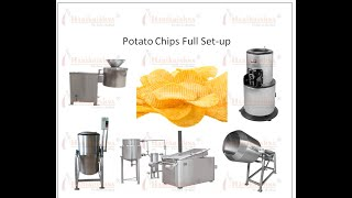 make potato chips at home