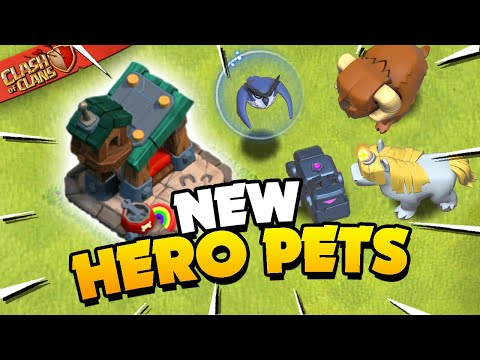 Hero Pets Explained! New Units in Clash of Clans! - Judo Sloth Gaming
