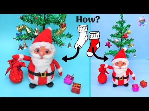 DIY: How to make Santa Claus from Old Socks/ Easy Christmas Craft 2019