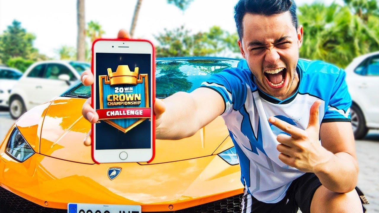 Gano El Crown Championship En Un Lamborghini Y Despierto A Mis Amigos Youtubers Thegrefg