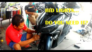 Cleaning Air Filter, Blue Water Installation & Mount Fabrication - Honda Click Game Changer | SJ6