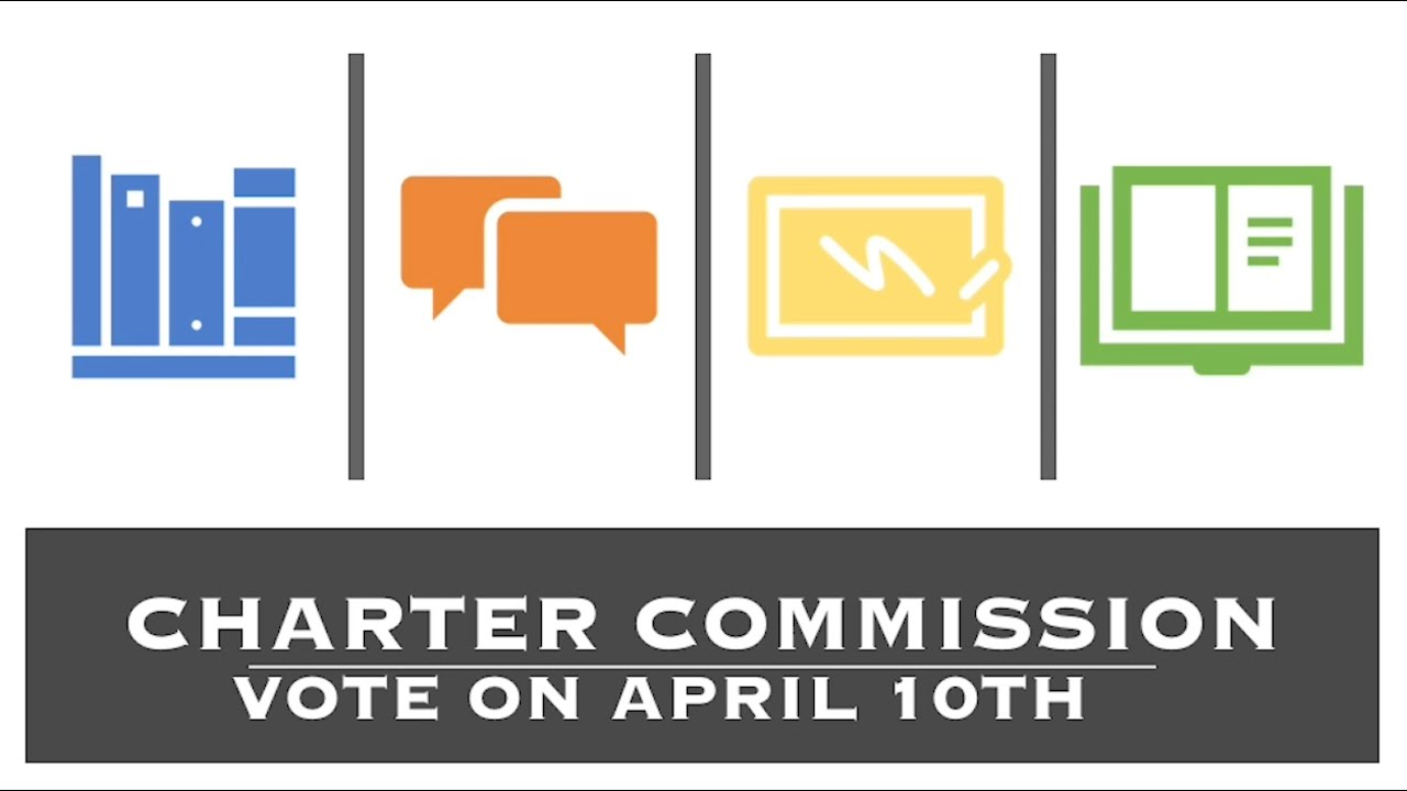 Vote For New Town Charter On April 10th