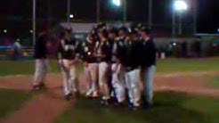 Newton baseball celebrates district title