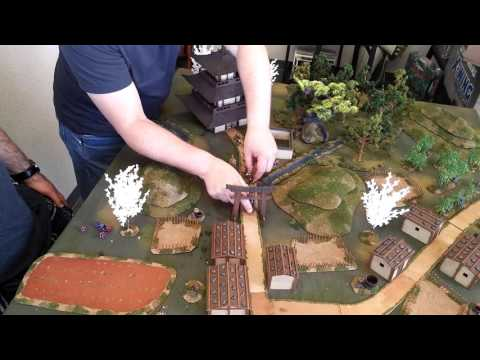 Tucson Skirmish Wargaming Ronin game 1 part 1