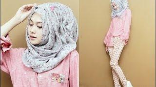Beautiful Hijab Tutorial ♚ Tutorial Hijab 2016 : Pakistani Hijab Styles 2016