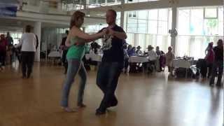 Christpher Stimson & Jennifer Müller @ World of Dance 2012 Wettbewerb Social Dancing Competition
