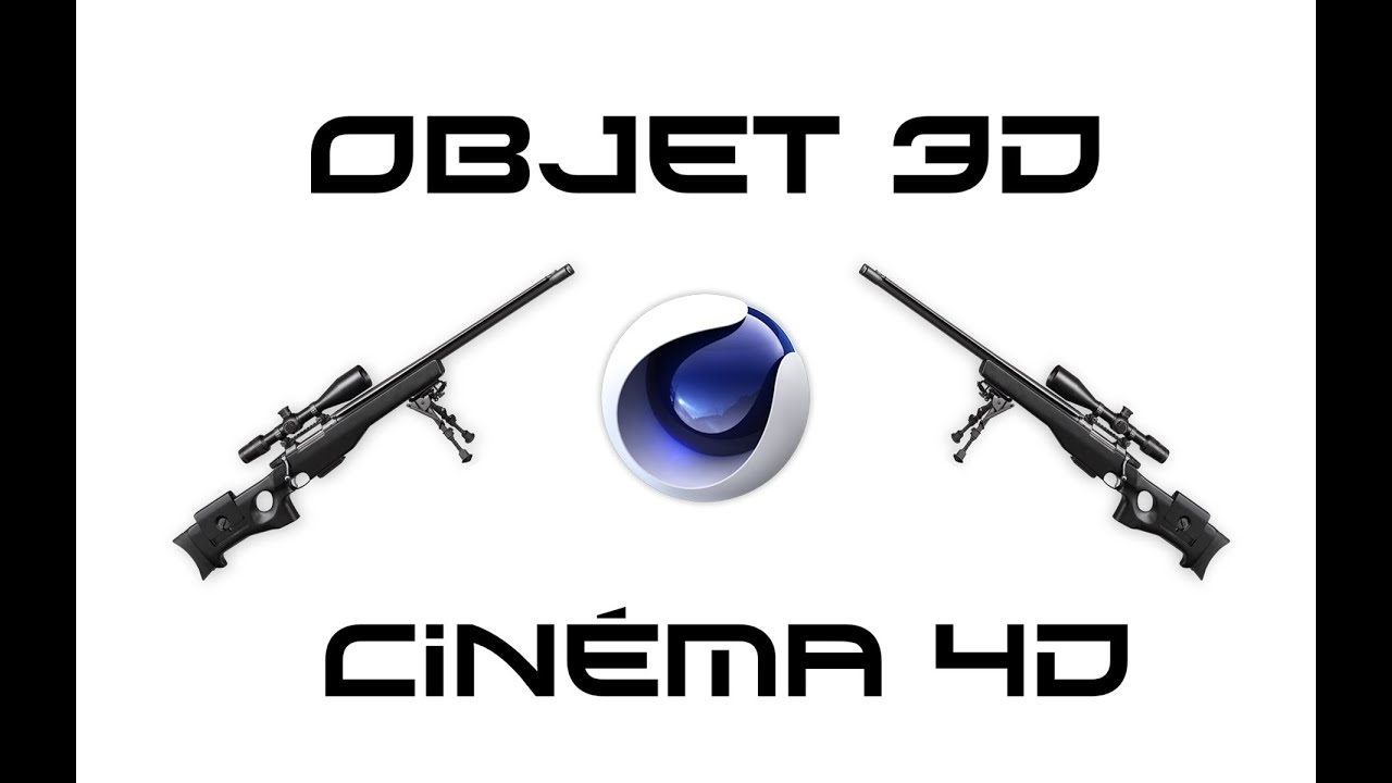comment ajouter un objet 3d dans cinema 4d sniper youtube. Black Bedroom Furniture Sets. Home Design Ideas