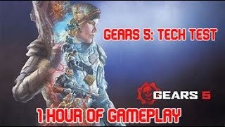 Gears 5: Tech Test 1 Hour Of Gameplay On Xbox One X