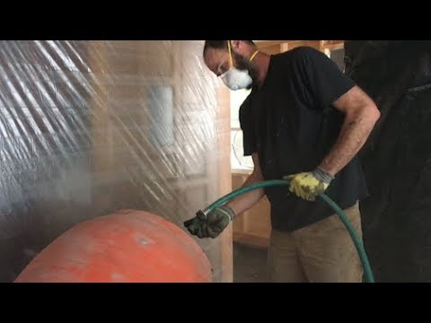 Download Youtube: TIMBER FRAME BUILD -- pouring a concrete slab floor in cold weather