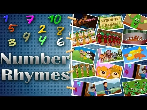 Number Rhymes Medley | Counting Rhymes for kids | 14 Rhymes Collection