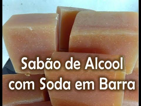 Sabão De álcool Com Soda Em Barra Esteh Vídeos Youtube