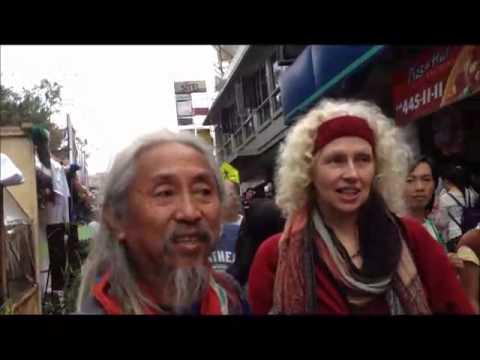 Az video blog: Panagbenga street bazaar in Session road, meet Kidlat Tahimik and trip back to Manila