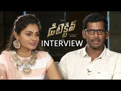 Vishal & Andrea Jeremiah Funny Interview About Detective Movie | Prasanna, Anu Emmanuel
