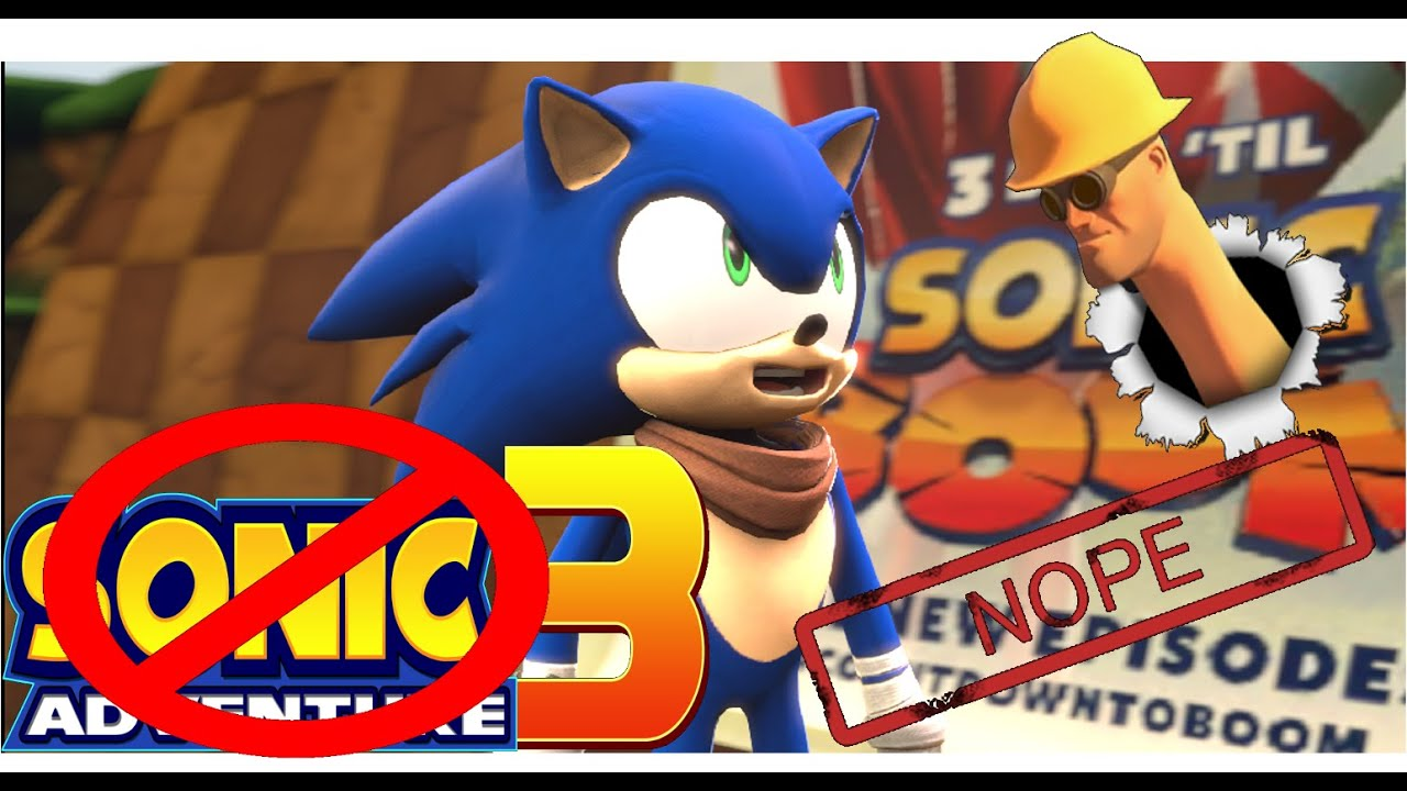 sfm sonic adventure 3 not confirmed youtube