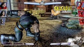 Injustice ios | Apokolips Darkseid challenge + Review