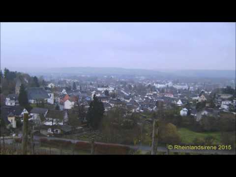Schauriges Heulkonzert - Sirenen Schallen Durch Das Siebengebirge