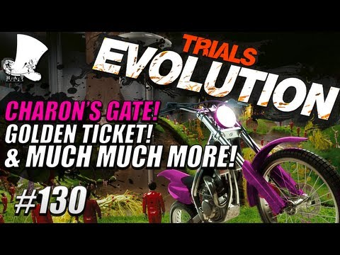 Trials Evolution #130 - Charon's Gate! Golden Ticket & Much More!