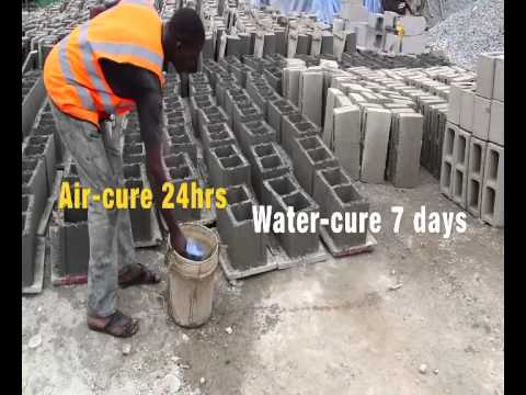 EPISODE 3: How to make a standard cement block