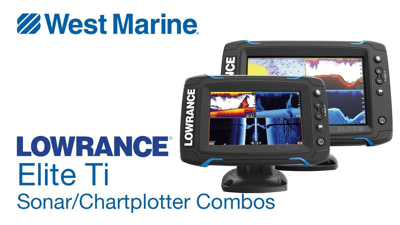 Эхолот картплоттер Lowrance Mark 4 CHIRP подводные кусты - YouTube
