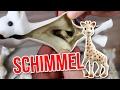 ‼️ SCHIMMEL SKANDAL ‼️ Sophie die Giraffe – Ich teste 3 gebrauchte Giraffen auf Schimmel