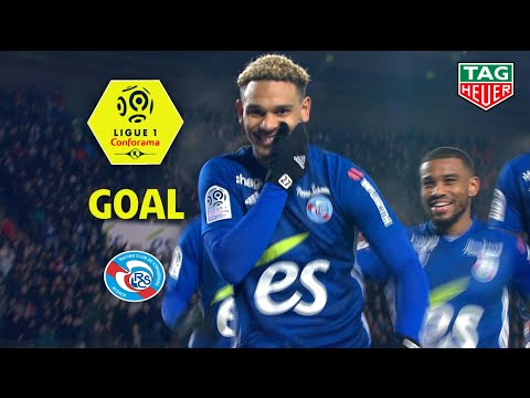 Goal Kenny LALA (90' +3) / RC Strasbourg Alsace - Girondins de Bordeaux (1-0) (RCSA-GdB) / 2018-19