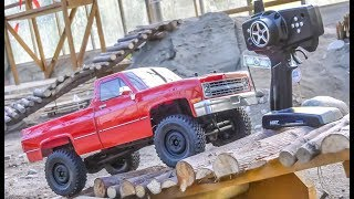 RC Pickup Truck gets unboxed and dirty for the first time!