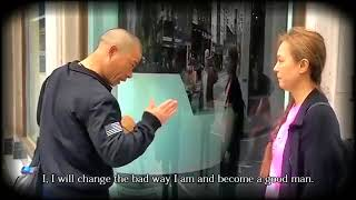 Fake Monks in London!【Change the bad way he was】